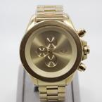 Vestal Men's ZR3005 ZR-3 Minimalist Oversized Gold Chronograph Watch