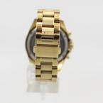 Michael Kors Ladies Bradshaw Mini Gold Tone Chronograph Watch MK5798