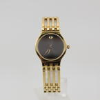 Movado Esperanza Women's Quartz Watch Yellow Gold Plated Swiss 84.25.811.4P