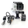GoPro Hero 3 CHDHN-301 Silver Edition Action Video Camcorder Camera