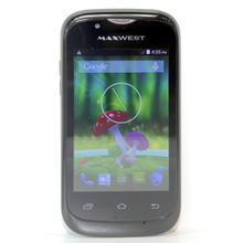 """Maxwest Astro Jr GSM 4GB Wi-Fi 3.5"""" Black Android Smartphone"""