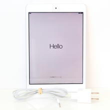 """Apple Ipad Mini MD531LL/A A1432 16GB Wi-Fi 7.9"""" Tablet White and Silver"""