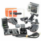GoPro Hero 3+ Silver Edition High Definition Camcorder With Extras
