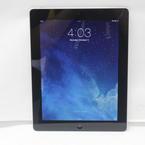 """Apple iPad 16GB 4TH Generation 9.7"""" WiFi Black Tablet MD510LL/A"""