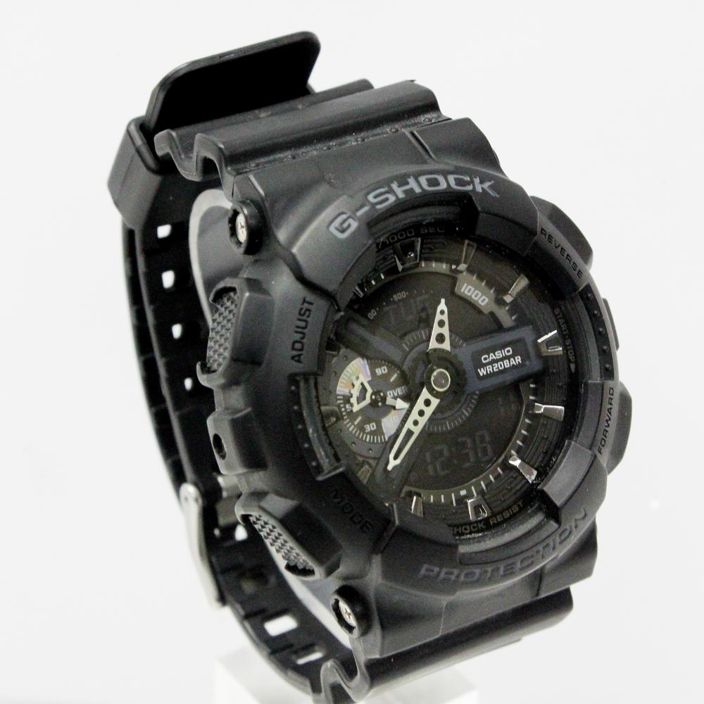 Casio G Shock Ga 110 5146 Black Mens Wrist Watch 777jewelry