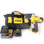 "Dewalt 20V Max DCD771 Cordless 1/2"" Compact Drill Driver Kit With 2 Batteries"