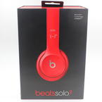 Beats Solo2  By Dr.Dre B0518 Red Head Phones On Ear Wired