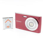 Sony Cyber-shot DSC-W510 12.1 MP Digital Camera - Burgundy