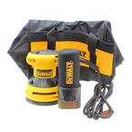 "New Dewalt 5"" Variable Speed Random Orbit Palm Sander D26453K"