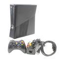 Microsoft Xbox 360 Slim 1439 Black 120gb Video Game Console
