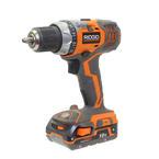"RIDGID R86008 1/2"" 18 Volt Cordless Heavy Duty Power Drill"