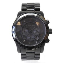 Casual Michael Kors MK-8157 All Black Stainless Steel Chronograph Sport Watch