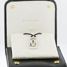 Authentic Bvlgari Parentesi 18K White Gold Pendant Necklace