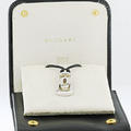 Authentic Bvlgari Parentesi 18K White Gold Pendant Necklace