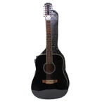 Carlo Robelli New York Establish 1932 W4102212B Black 12 String Acoustic Guitar