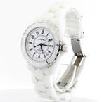 Authentic CHANEL J12  39mm White Ceramic Automatic Watch