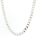 "NEW Mens 925 Sterling Silver Curb Link 30"" Lobster Claw Clasp Chain"
