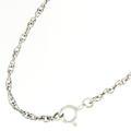 """Estate Silver 925 18"""" Chain Blue Topaz Gemstone Marcasite Chandelier Drop Necklace"""
