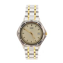 Men's Citizen 5510-n51173 Two-Tone Stainless Steel Quartz Date Watch