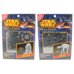 Disney Star Wars R2-D2 AT-AT Steel Sheets Glue less 3D Metal Earth Model 2 Piece Kits