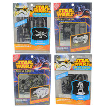 Disney Star Wars Steel Sheets 3D Metal Earth Model 4 Piece Kits