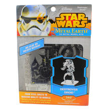 Disney Star Wars Steel Sheets Glue less 3D Metal Earth Model Kits