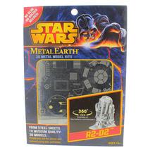 Disney Star Wars Steel Sheets Glue less 3D Metal Earth Model Kits Lot of 5