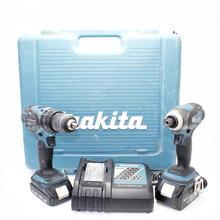 Makita LXT211 XPH01 XDT04 18V Li-Ion Hammer Drvier & Impact Drill Tool 2 Pcs Combo Kit