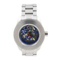 Android Maxjet Skeleton AD514BK Stainless Steel Automatic Watch