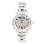 Tourneau Safari Ladies Mother of Pearl Dial Stainless Steel Quartz Watch