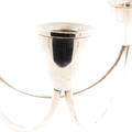 Vintage Duchin Creation Weighted 3 Stem Sterling Silver Candle Stick Holder