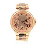 Michael Kors MK-4308 Ladies Rose Mini Camille Glitz Tortoise Watch
