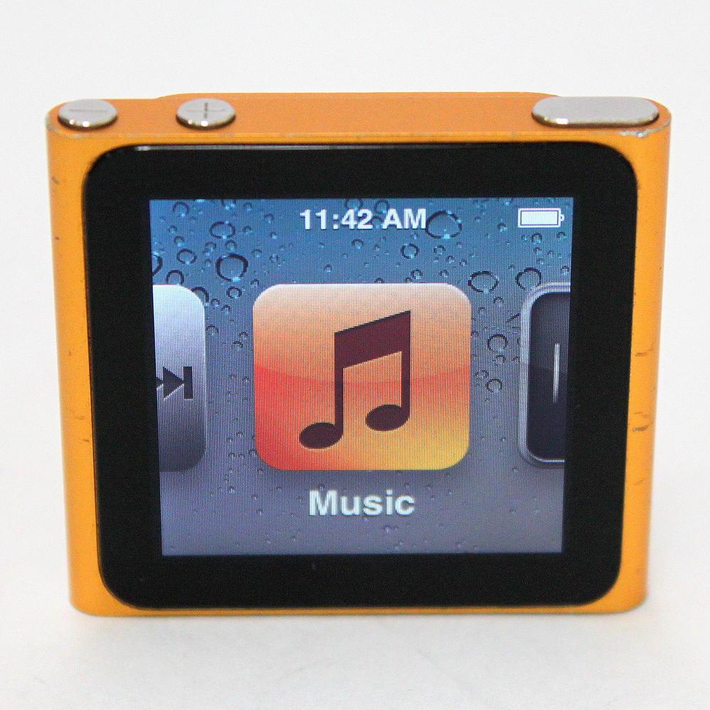 Apple iPod Nano 6th Generation Orange/Gold 8 GB MC691LL.  51c8e65daf2a73267749875847d06d4e. E14a59b9f9002f4853e8e3fd121d8a1e
