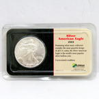 Uncirculated U.S. 2003 Silver American Eagle 1 Oz Littleton Coin One Ounce