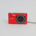 Samsung SH100 14.2MP Red Digital Camera WiFi Touchscreen