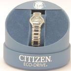 Citizen Eco-drive Ladies Swarowski Crystal Women's Watch EW9870-57E MINT