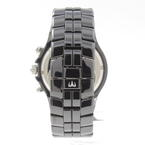 Rare TECHNOMARINE  Men's TMY Ceramique Chronograph Black Ceramic Watch TMYCB02C