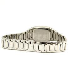 Ladies Bulova 96P15 Stainless Steel Black Dial Diamond Accented Watch