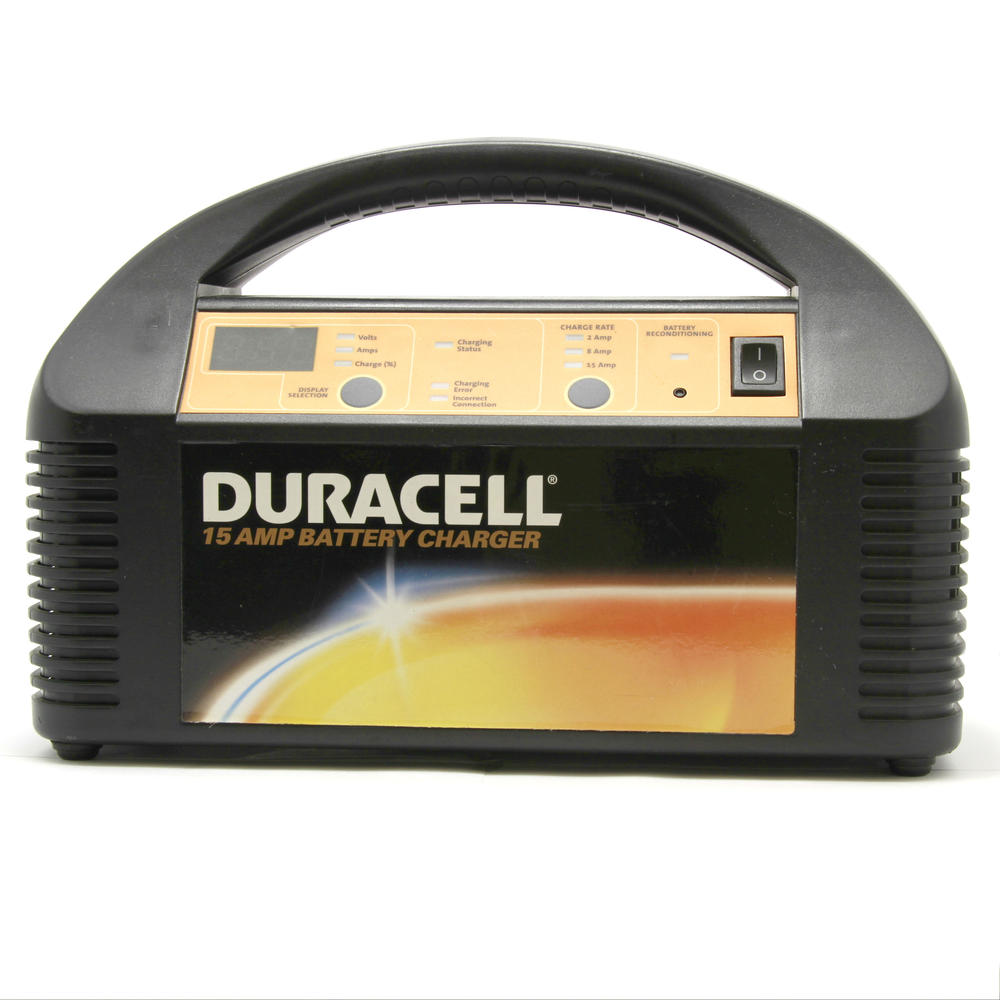 Duracell 15 Amp Battery Charger for 12V Batteries.  F3343ec6e640eb49e063a18b49a513d6. D2ae4460d834791a27bb81d48d961a1a.  Db89ae8feabedee1df651a0e6e2ddda8
