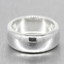 Classic Estate Men's 925 High Polished Silver Ring Band Size 9