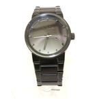 Nixon Mens Cannon Black Stainless Steel Analog Quartz Watch A160-001-00