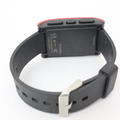 Red Sport Pebble 301RD Digital Watch Bluetooth SmartWatch for Android Apple iPhone