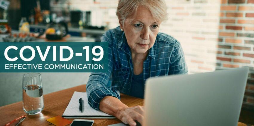 COVID-19 effective communication