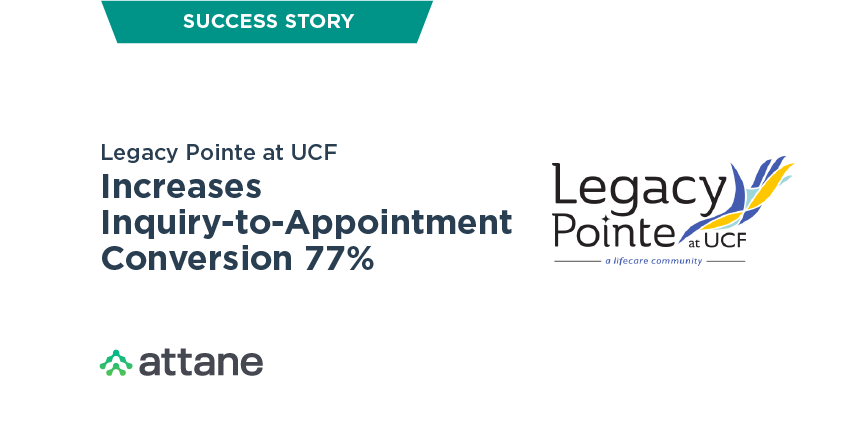 Legacy Pointe Increases Inquiry to Appointment Conversion 77%