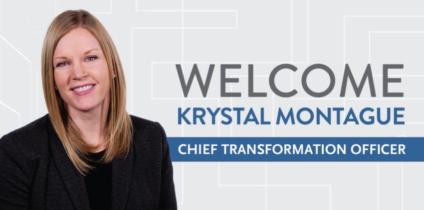 Welcome Krystal Montague