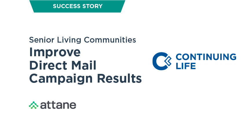 Senior Living Communities Improve Direct Mail Campaign Results