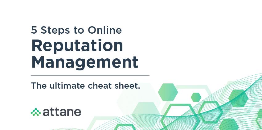Reputation Management Checklist