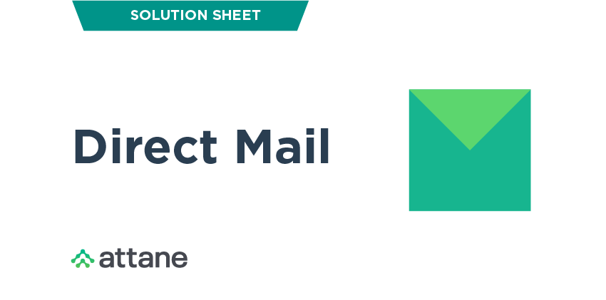 Direct Mail Solution Sheet