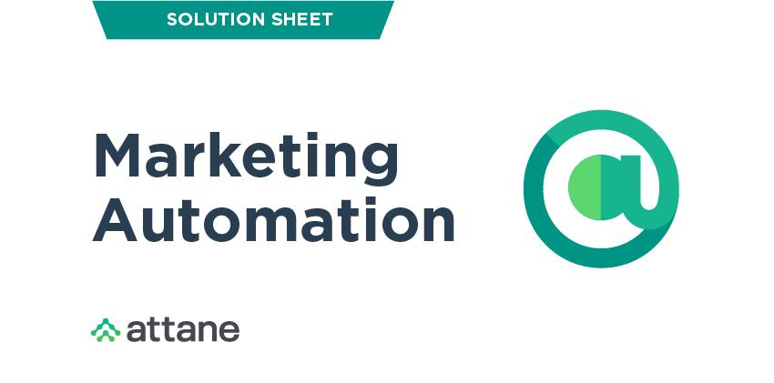 Marketing Automation Solution Sheet