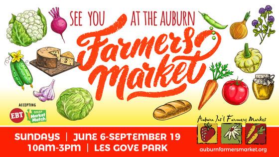 Auburn Farmers Market 2021 Opening Day